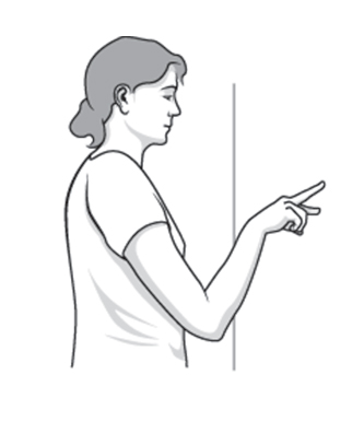 Finger Walking for Shoulders